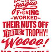 Corey Crawford Cup Speech Art Print