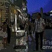 Corfu-86 Art Print