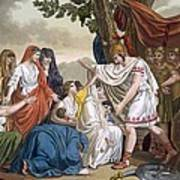 Coriolanus And His Mother Volumnia Art Print