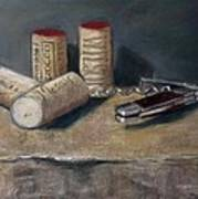 Corks Number 5 Art Print