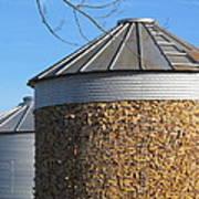 Corn Storage Art Print