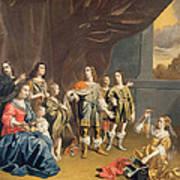 Cornelia And Her Jewels Oil On Canvas Art Print