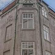 Corner Building Helsingborg 02 Art Print