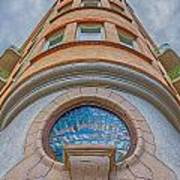 Corner Building Helsingborg Art Print