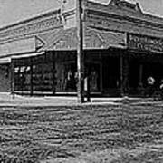 Corner Of Stone And W. Congress Street 180 Degrees Panorama Tucson Arizona C.1905 Art Print