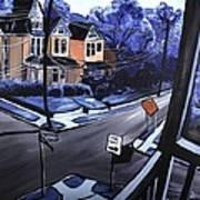 Corner View Art Print