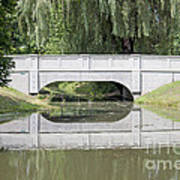 Corning Ny Denison Park Bridge Art Print