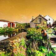 Cornish Reflections  Art Print