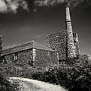 Cornish Tin Mine. Art Print