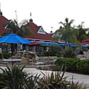 Coronado Ferry Landing Marketplace In Coronado California 5d24386 Art Print
