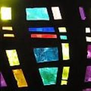 Coronado Hospital Chapel Stained Glass Art Print
