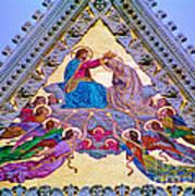 Coronation Of The Virgin Art Print