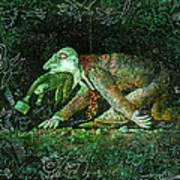 Corporate Predator Art Print