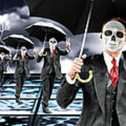 Corporate Matrix Clones Art Print