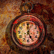 Corroded Time Art Print