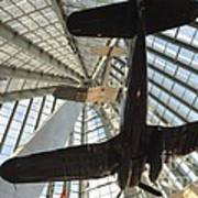 Corsairs In The National Marine Corps Museum In Triangle Virginia Art Print