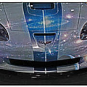 Corvette Is Out Of This World Art Print