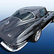 Corvette Stingray 1966 Art Print