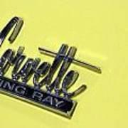 Corvette Stingray Art Print