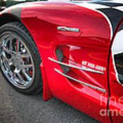 Corvette Z06 Art Print