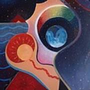 Cosmic Carnival IIl Aka Desire Art Print