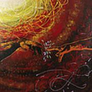 Cosmic Contact Art Print