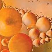 Cosmic Copper Art Print