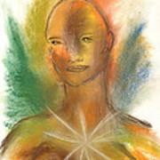 Cosmic Feminine Art Print