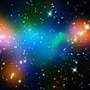 Cosmic Glow Art Print