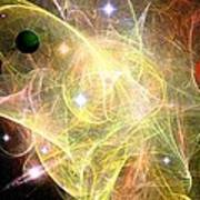 Cosmic Jubilation Art Print