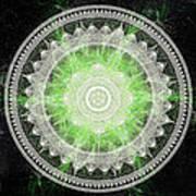 Cosmic Medallians Rgb 1 Art Print