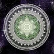 Cosmic Medallions Earth Art Print