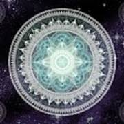 Cosmic Medallions Water Art Print