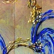 Cosmic Mitochondria Art Print
