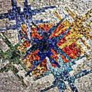 Cosmic Mosaic Art Print