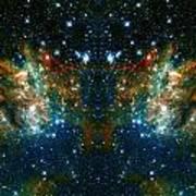 Cosmic Phoenix  Art Print