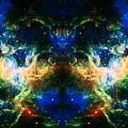 Cosmic Reflection 2 Art Print