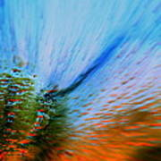 Cosmic Series 006 - Under The Sea Art Print