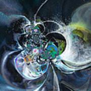 Cosmic Spider Art Print