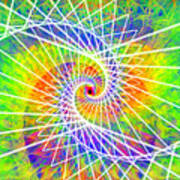 Cosmic Spiral Ascension 03 Art Print
