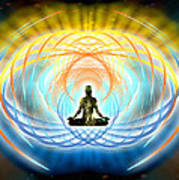 Cosmic Spiral Ascension 04 Art Print
