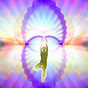 Cosmic Spiral Ascension 07 Art Print