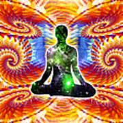 Cosmic Spiral Ascension 10 Art Print