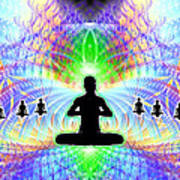 Cosmic Spiral Ascension 11 Art Print