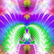 Cosmic Spiral Ascension 13 Art Print