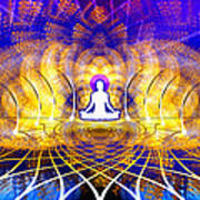 Cosmic Spiral Ascension 18 Art Print