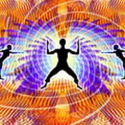 Cosmic Spiral Ascension 19 Art Print