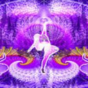 Cosmic Spiral Ascension 27 Art Print