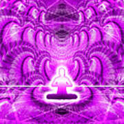 Cosmic Spiral Ascension 29 Art Print