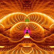 Cosmic Spiral Ascension 33 Art Print